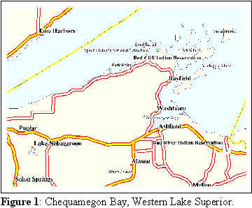 Chequamegon Bay, Western Lake Superior