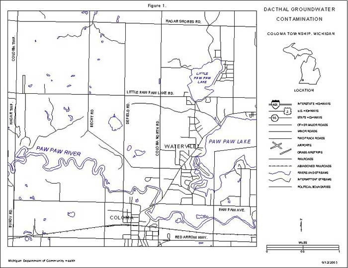 Dacthal Groundwater Contamination