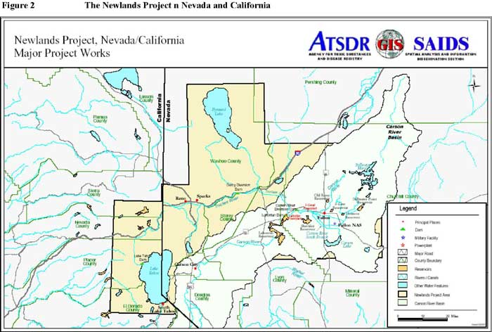 Newlands Project, Nevada/California: Major Project Works