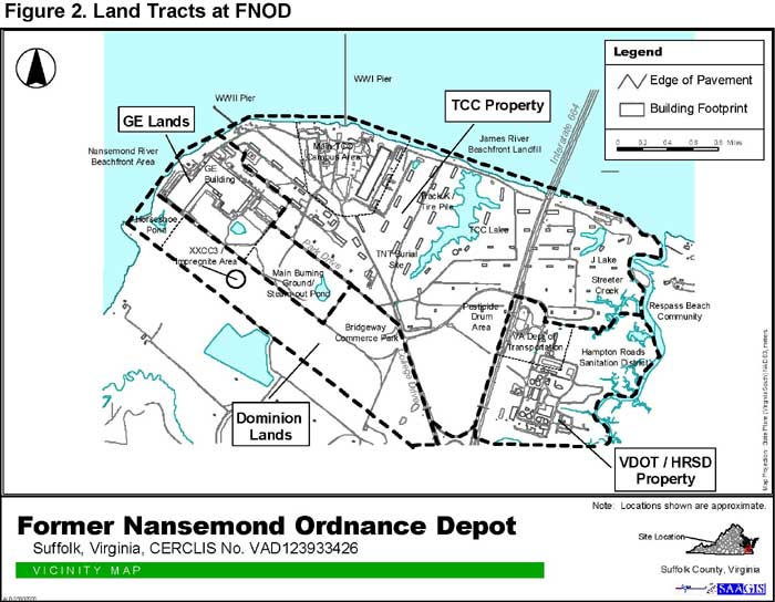 Land Tracts at FNOD