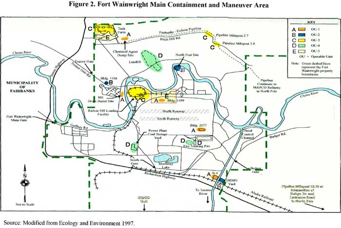 Fort Wainwright Main Containment and Maneuver Area