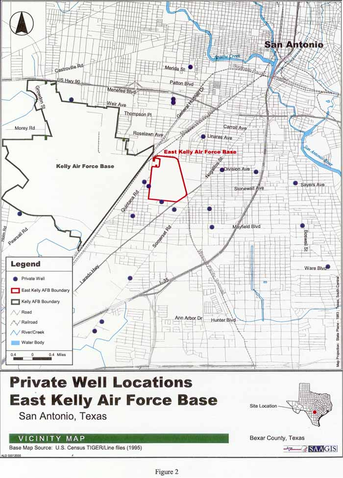 Private Well Locations