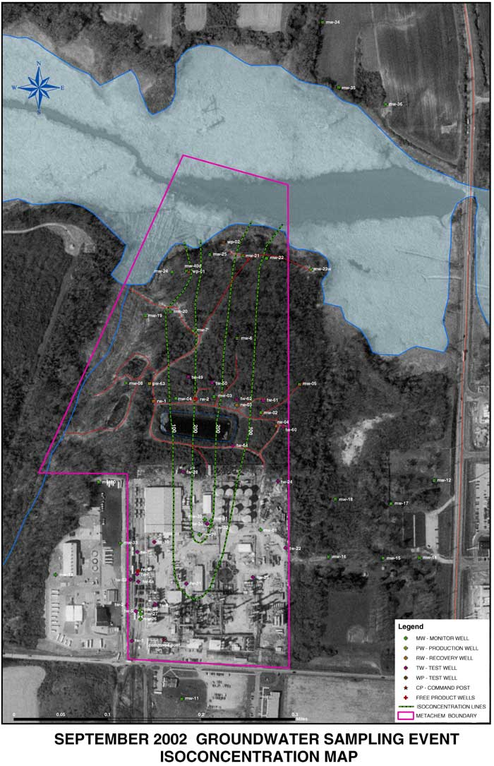 Groundwater Contamination Plume