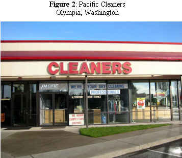 Pacific Cleaners, Olympia, Washington