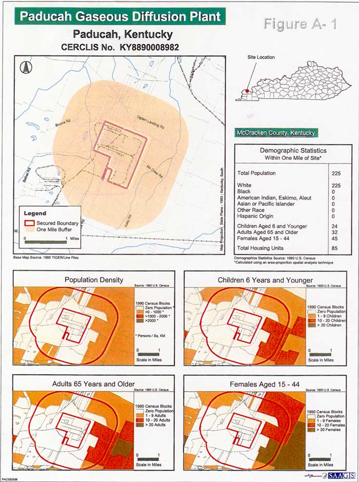Site Information Map