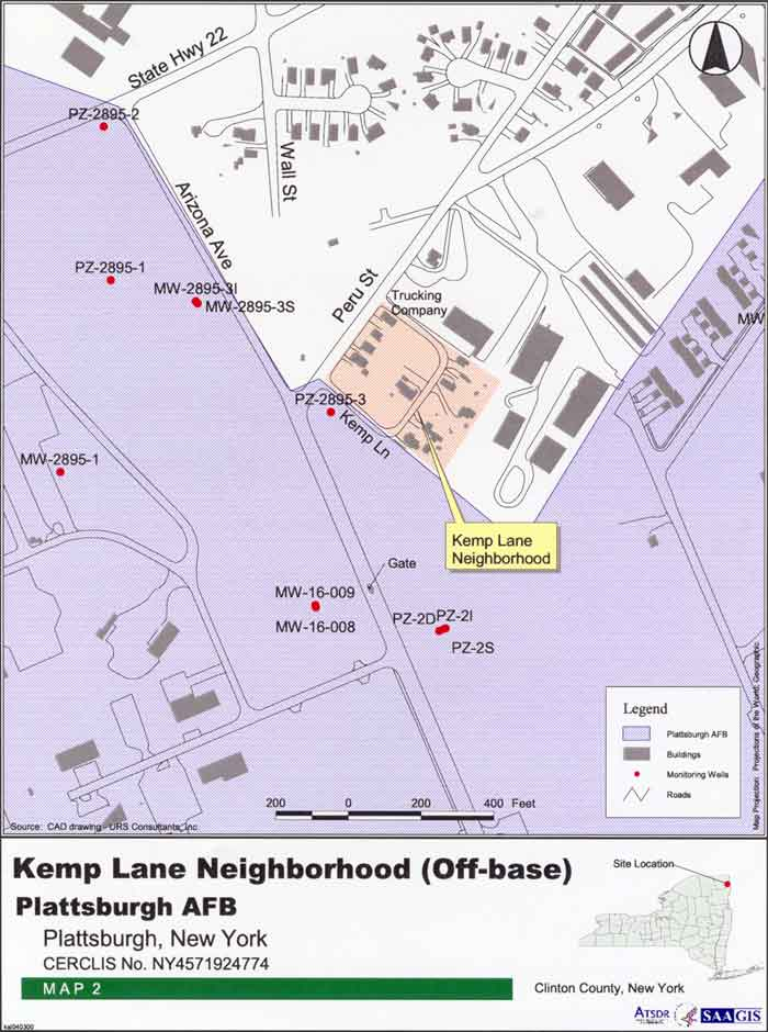 Kemp Lane Neighborhood (off-base)