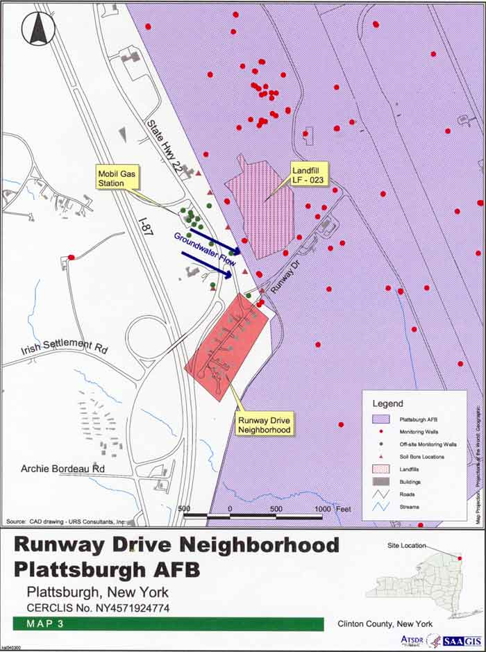 Runway Drive Neighborhood