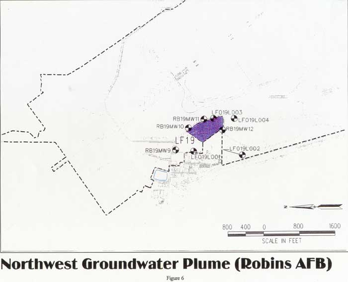 Northwest Groundwater Plume (Robins AFB)