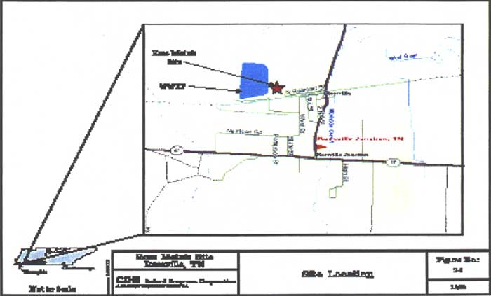 Site Map for Ross Metals, Inc.