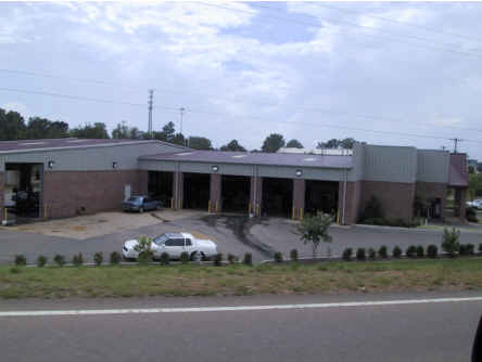 Photo of Raleigh Tire garage bays and storage