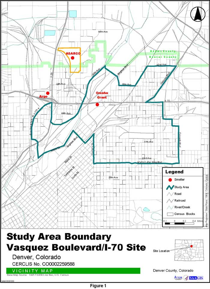 Study Area Boundary Vicinity Map