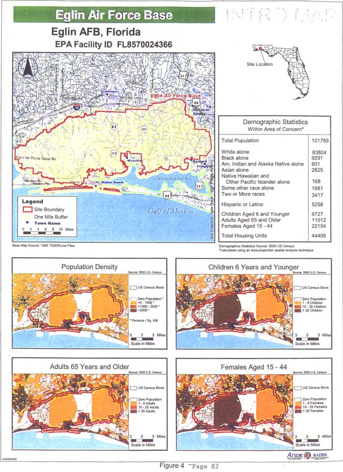 Eglin Afb Map Building Numbers Demographic Map of Eglin Afb