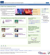 Toxic Substances Home Page