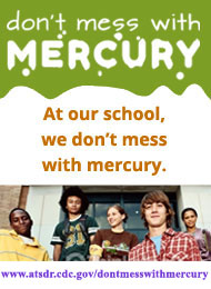 At our school we don't mess with mercury.