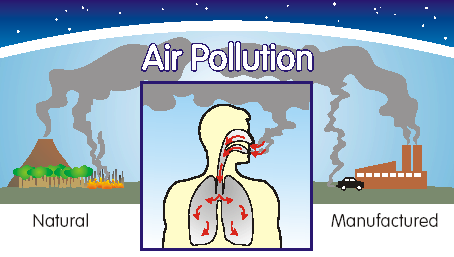 Image result for air pollution effect