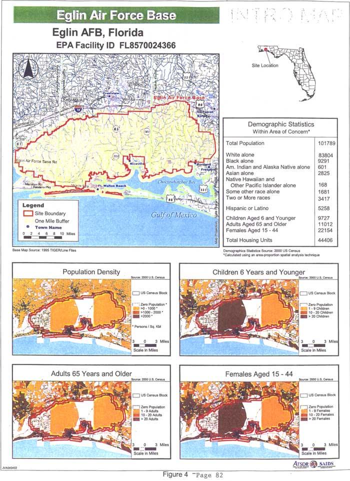 Eglin Afb Map Eglin Afb Base Map