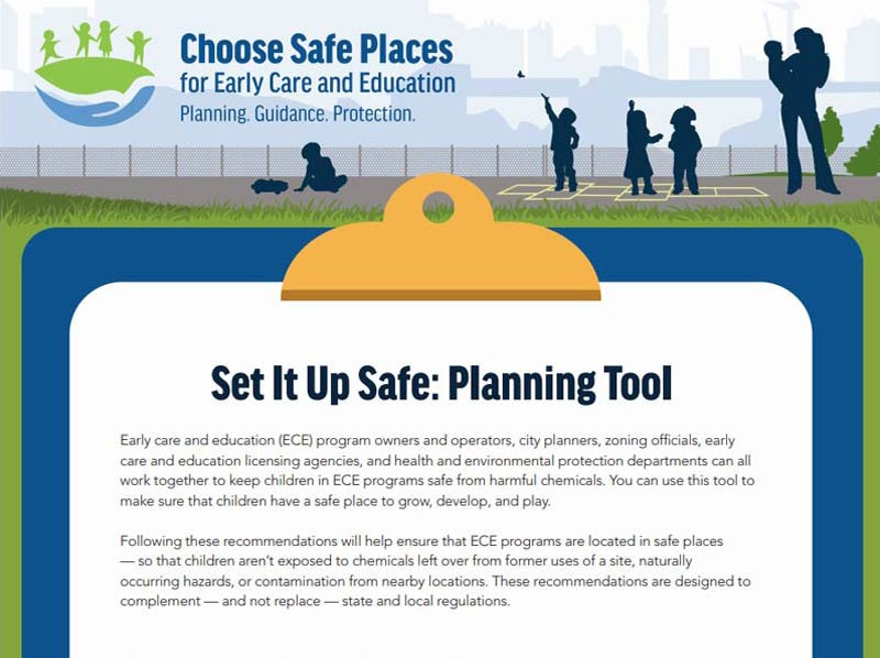 Cover Image for Set It Up Safe: A Planning Tool