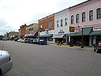 Downtown Baraboo, Wisconsin