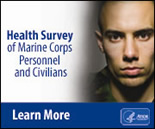 Health Survey of Marine Corps Personnel and Civilians. Link: http://www.atsdr.cdc.gov/sites/lejeune/health_survey.html