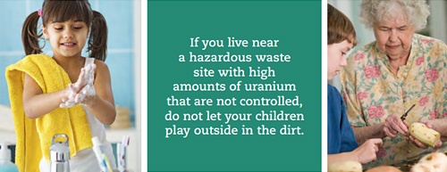 reducing the risk of exposure to uranium